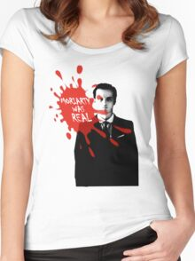 Moriarty Was Real - Jim - Sherlock BBC Women's Fitted Scoop T-Shirt