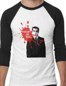 Moriarty Was Real - Jim - Sherlock BBC Men's Baseball ¾ T-Shirt