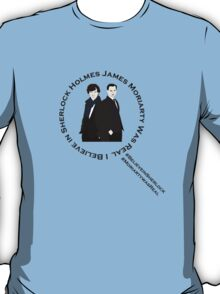 Sherlock & Moriarty Under the Microscope T-Shirt
