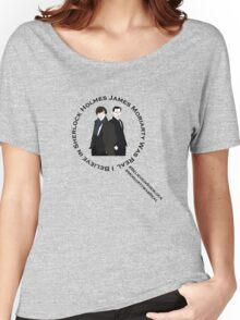Sherlock & Moriarty Under the Microscope Women's Relaxed Fit T-Shirt
