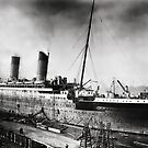 Titanic - Fitting out, Thompson Drydock by Chris Cardwell