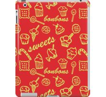 Sweets red pattern iPad Case/Skin