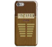 Pre-Transistor Radio - Condor iPhone Case/Skin