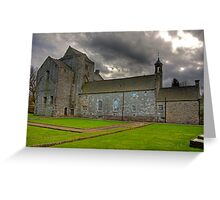Torphichen Preceptory Greeting Card