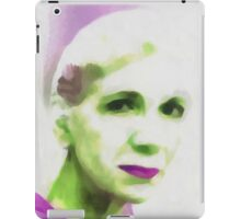 Gazing Through Glass iPad Case/Skin