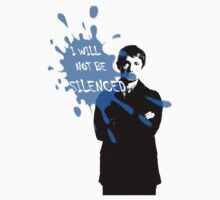 I Will Not Be Silenced - John - BBC Sherlock T-Shirt