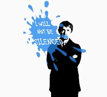 I Will Not Be Silenced - John - BBC Sherlock Unisex T-Shirt