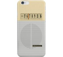 Transistor Radio - Gilligan's Desert Isle Model iPhone Case/Skin