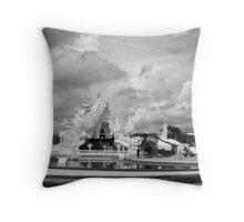Wat Rong Kun 2 Throw Pillow