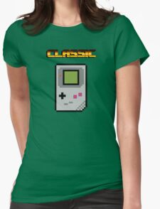 8 bit Gameboy Classic Womens Fitted T-Shirt