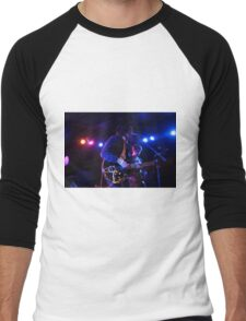 Band Playing Live Music Men's Baseball ¾ T-Shirt