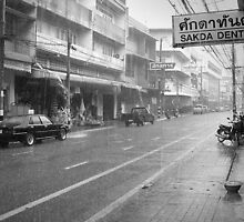 Chiang Mai Rains by Phoonaz