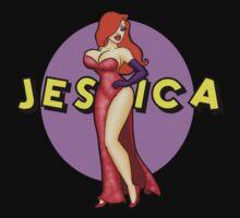 Jessica Rabbit with Sparkles! by BeccaW