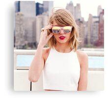 Taylor Swift New York Canvas Print