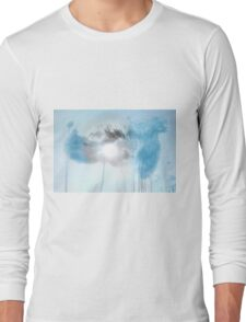 Artsy Water Photography Shower Long Sleeve T-Shirt