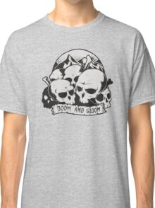 Skulls (Doom and gloom) Classic T-Shirt