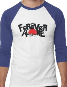 Forever Alone - Pokemon Men's Baseball ¾ T-Shirt