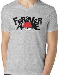 Forever Alone - Pokemon Mens V-Neck T-Shirt