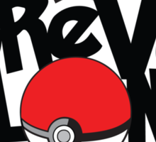 Forever Alone - Pokemon Sticker
