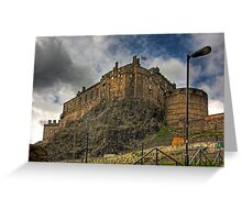 The Castle from the Grassmarket Greeting Card