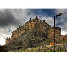 The Castle from the Grassmarket Photographic Print