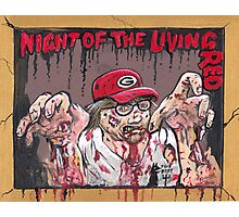 Night of the living Red Photographic Print