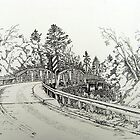 Crooked Bridge by Charles Sims