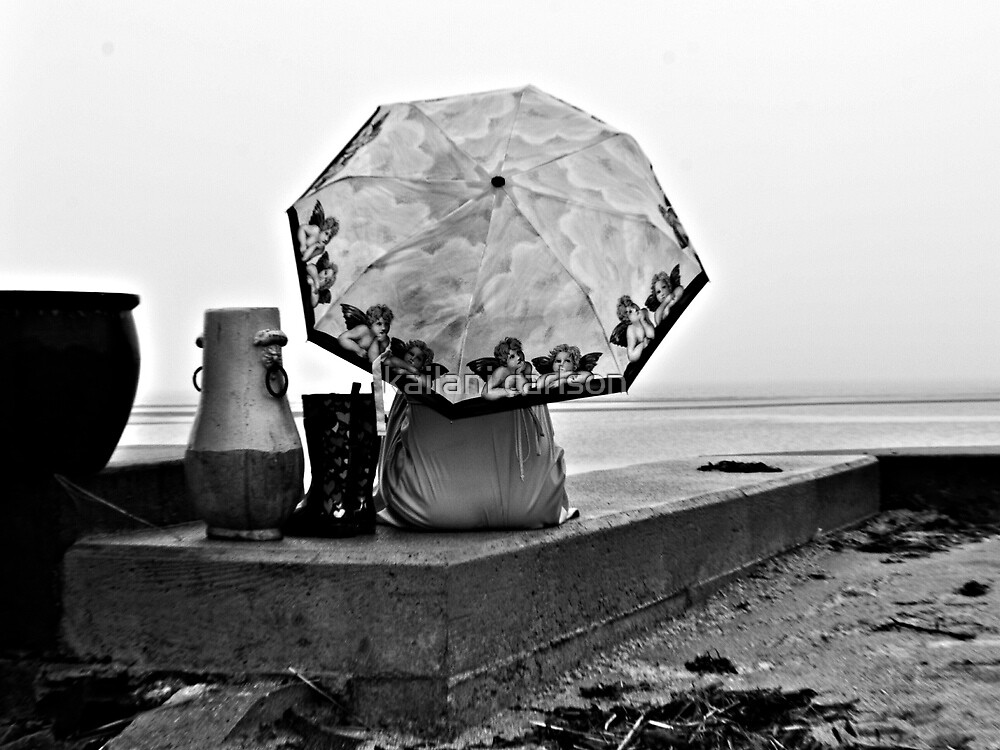Rainy Day on the Long island Sound by MJD Photography  Portraits and Abandoned Ruins