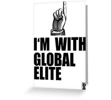 I'm with Global Elite Greeting Card