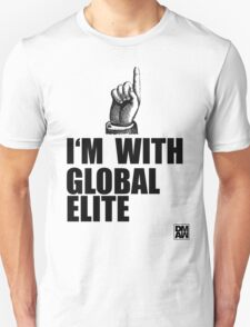 I'm with Global Elite T-Shirt