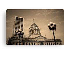 Fort Wayne, Indiana - City Hall Canvas Print