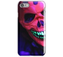 Neon Glowing Mask Notebook iPhone Case/Skin
