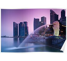 Merlion of Singapore Poster