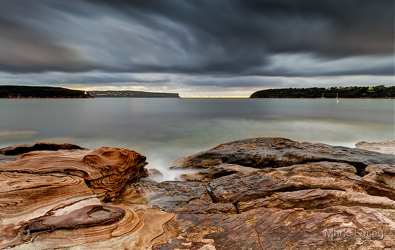 Textures of Land & Sky by Mark  Lucey