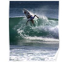 Chase Wilson Surfer Poster