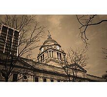 Fort Wayne, Indiana - City Hall Photographic Print
