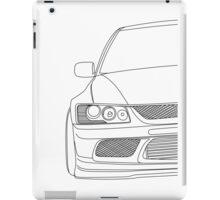 Evo outline - black iPad Case/Skin
