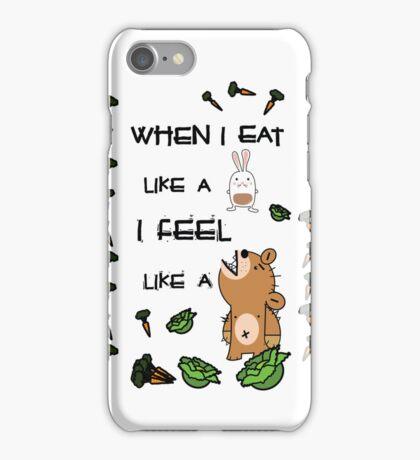 Vegetarian Carnivore iPhone Case/Skin