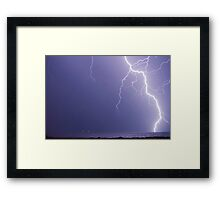 2am Lightning Framed Print
