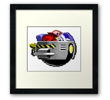The Flying Robotnik Framed Print