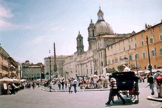 Italian Promenade by Piero