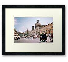 Italian Promenade Framed Print