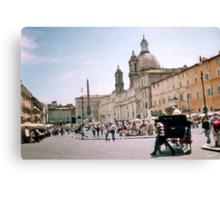 Italian Promenade Canvas Print