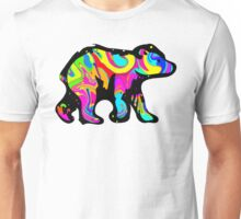 Colorful Bear Cub Unisex T-Shirt