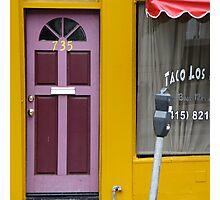 Purple Door and More Photographic Print