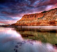 Red Bluff Cliffs by John Dekker