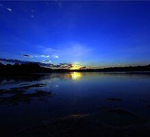 currimundi lake sunset by Nick Milton