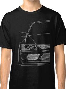 Evo outline - white Classic T-Shirt