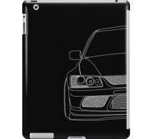 Evo outline - white iPad Case/Skin