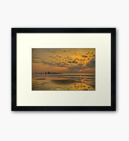 Beaming Calicut Framed Print